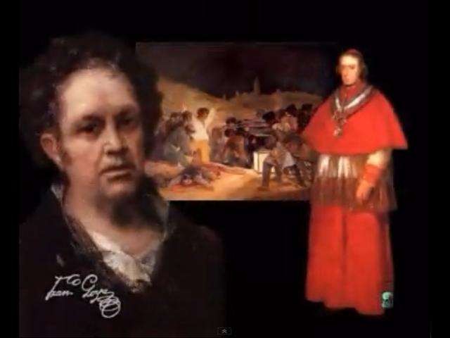 Los fusilamientos del tres de mayo por Goya
