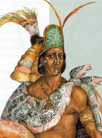 Moctezuma II became Ruler