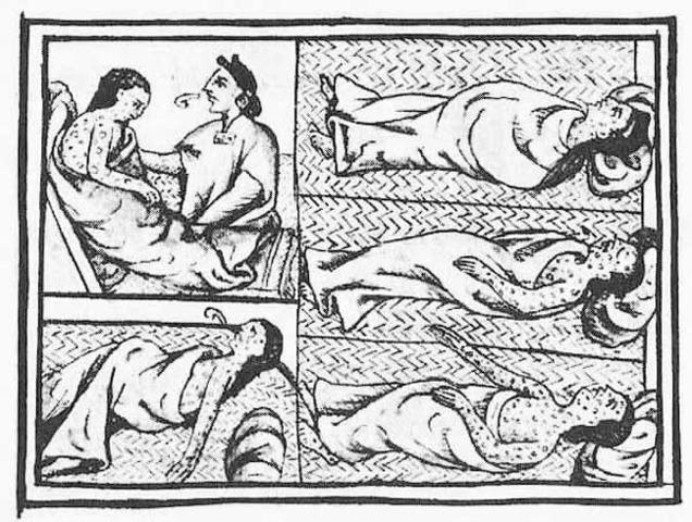 Plague on the Aztec