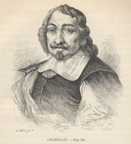 Samuel de Champlain dies