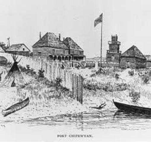 Samuel Hearne establishes Fort Cumberland
