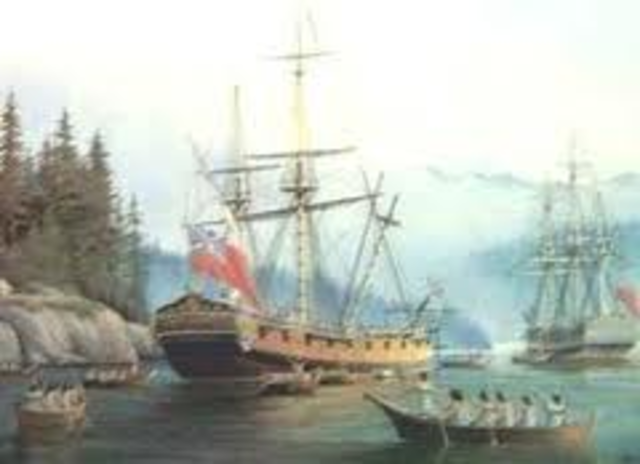 Vancouver is appointed Captain of Discovery for the voyage to the Pacific Northwest.