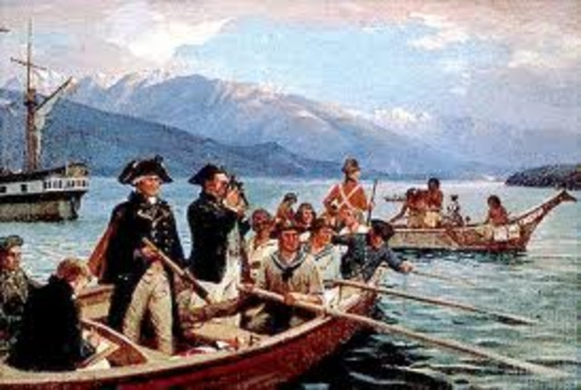 Vancouver leads the expedition to the Pacific Northwest where he spends three seasons charting
