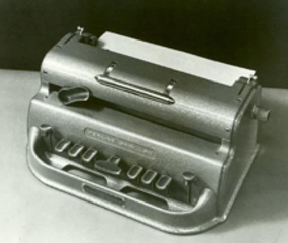 Prototype of Perkins Brailler developed