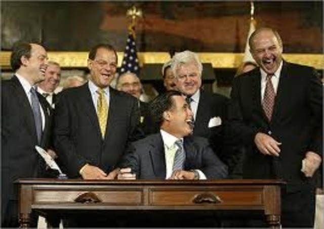 Massachusetts enacts Mandated Heatlh Insurance Law