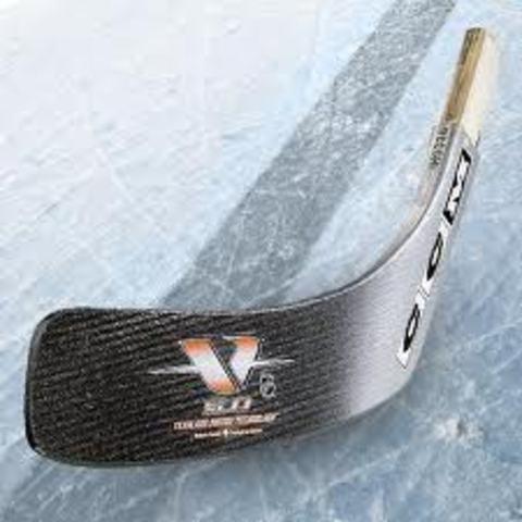 Curved Hockey Stick