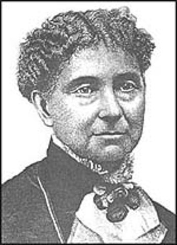 First prominent women's rights newspaper