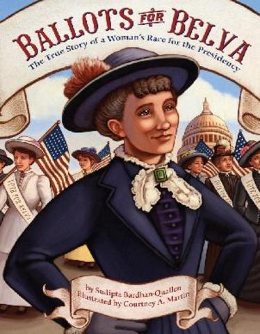 First woman to obtain presidential votes