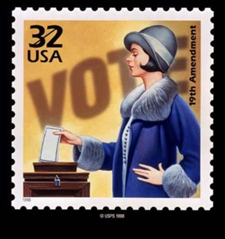 WOMEN ARE VOTING!