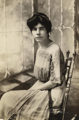 Alice Paul and Lucy Burns