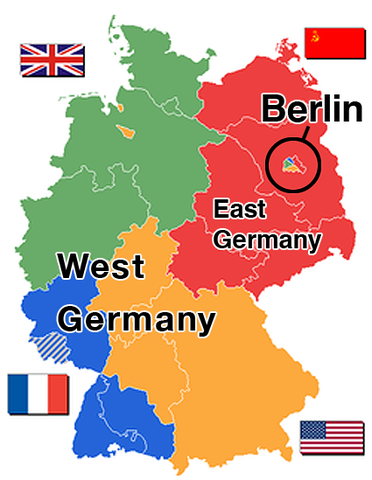Partition of Germany is Official (VUS.13a)