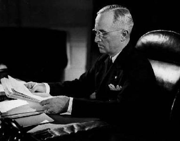 "Truman proposes the ""Fair Deal"""
