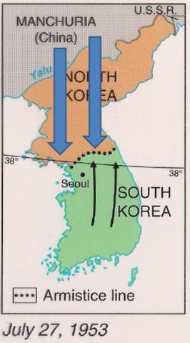 China enters the Korean War (VUS.13b)