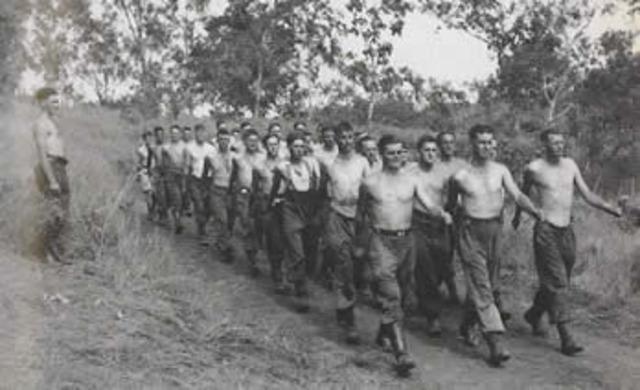 Australia's 39th Battalion arrive in Papua New Guinea