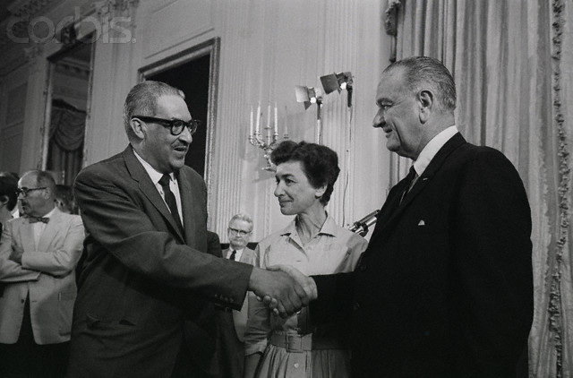 Johnson Appoints Thurgood Marshall to Supreme Court (VUS.15a)