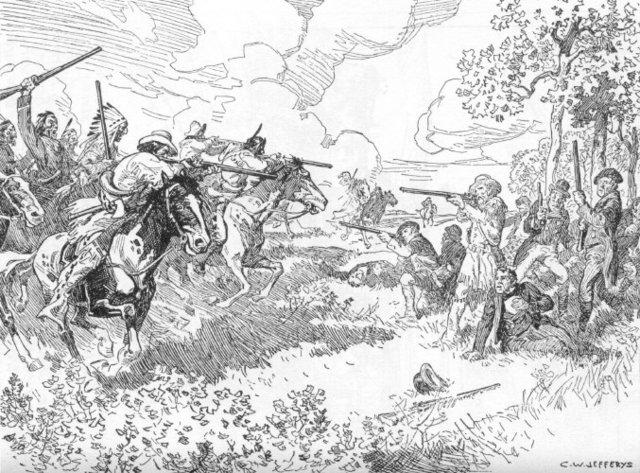 The Battle of Seven Oaks Breaks Out (The Prairies)