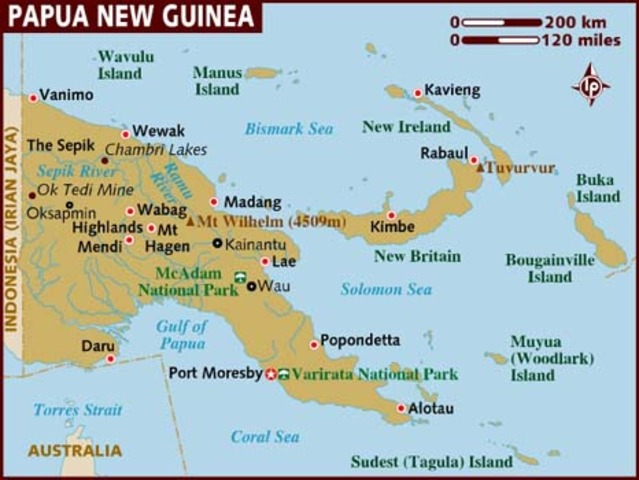 Japanese resistance ceases in PNG