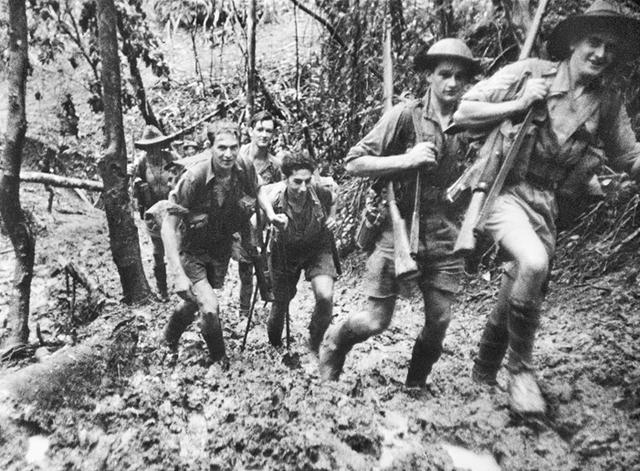 B Company 39th Battalion fall back to Oivi.