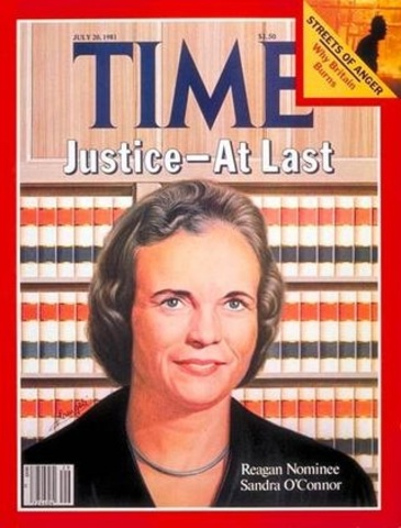 Judicial Appointment, Sandra Day O'Connor (VUS.15a)