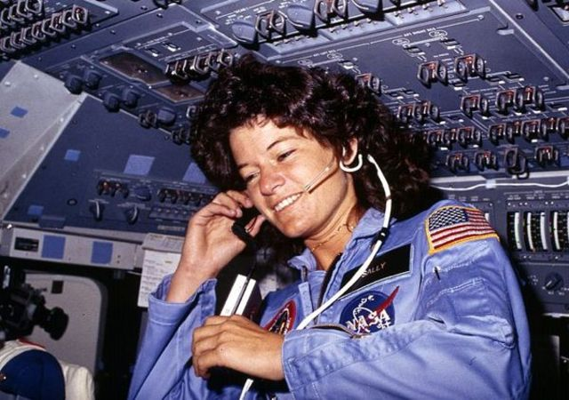 Sally Ride; The first American Woman in Space (VUS.15c)