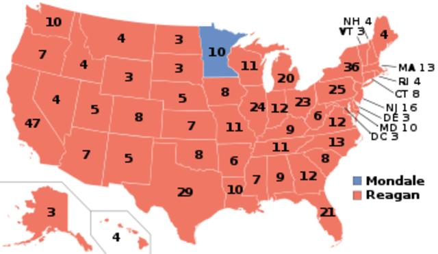 Reagan Crushes Mondale (VUS.15d)