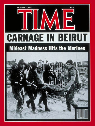 Reagan withdraws troops from Lebanon (VUS.15f)
