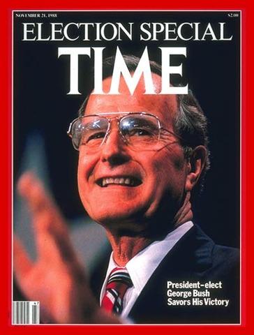 George H.W. Bush elected (VUS.15d)