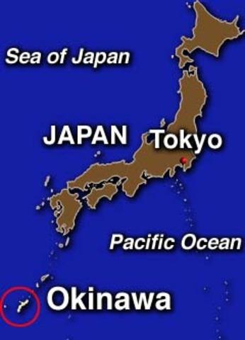 DODDS in Okinawa, Japan