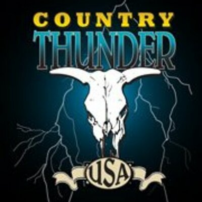 Past Country Thunder Line Ups timeline