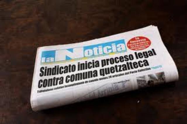 Columnista  de el Periódico La Noticia
