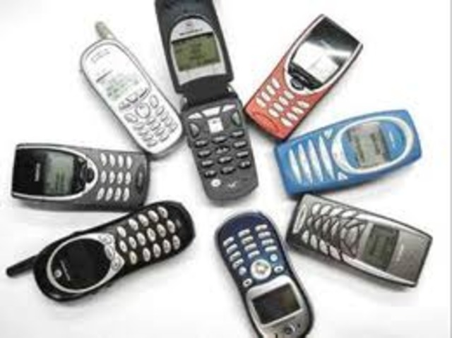 Teléfono celular análogo