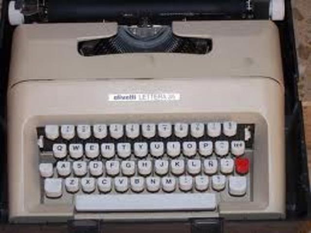 Máquina de escribir mecánica