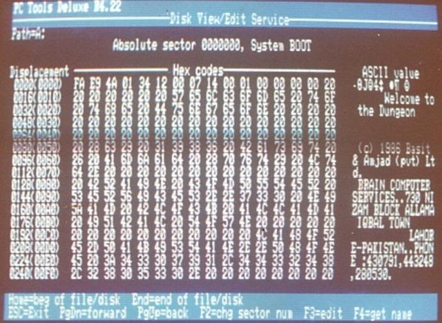 First computer virus