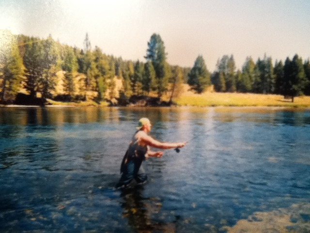 Day 7: Fished the Yellowstone River