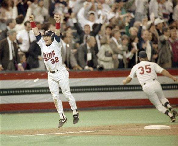 Minnesota Twins win second World Series.