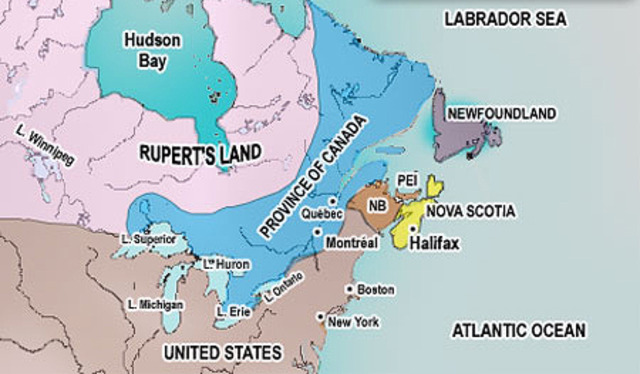 The Act of Union is Enacted (Eastern Canada)