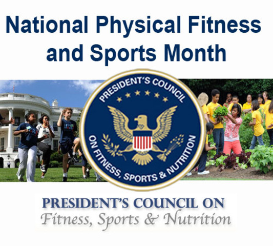 """""""May Month""""- National Physical Fitness and Sports Month"""