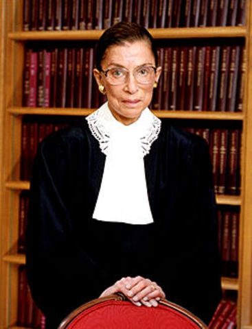 Second Woman to the Supreme Court; Ruth Bader Ginsburg (VUS.15a)