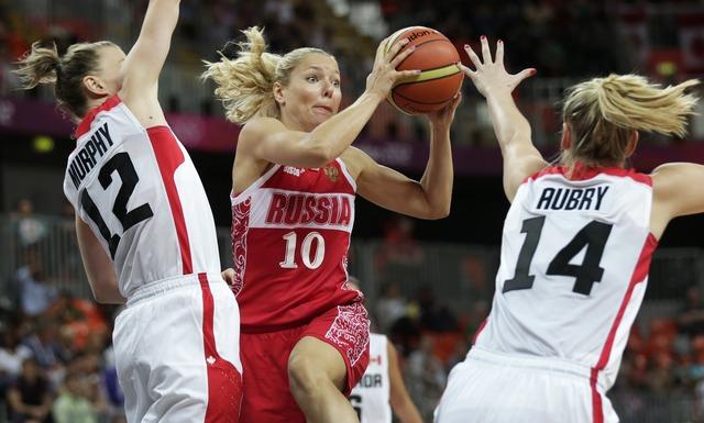 Women's basketball team falls to Russia