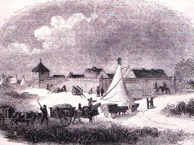 Canada purchased Rupert's Land (Prairies)