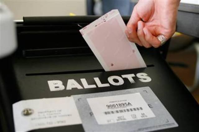 Secret ballot employed