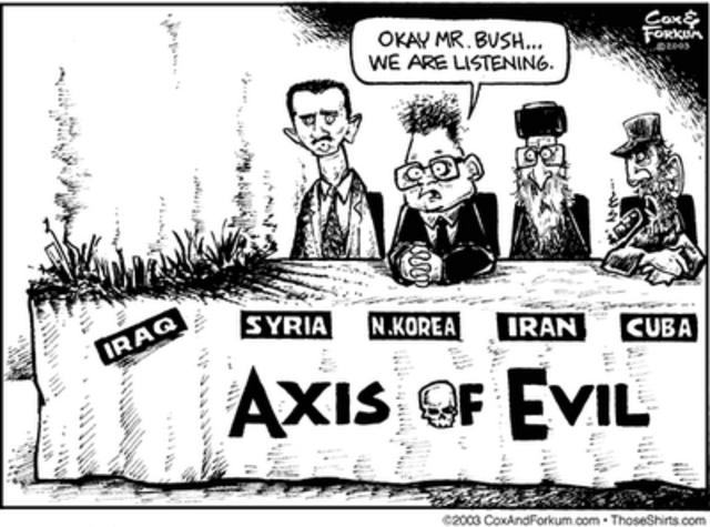 """The Axis of Evil"" (VUS.15f)"