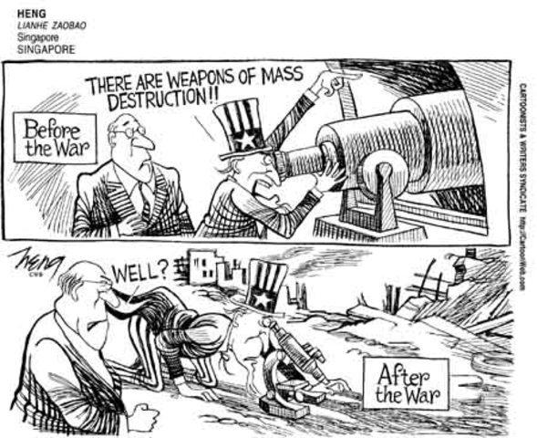 Anyone seen the WMD's? (VUS.13e)