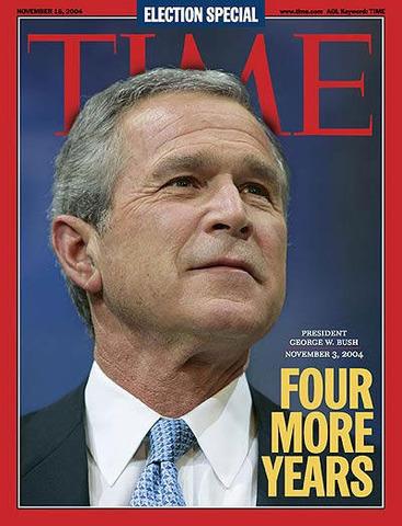 Bush wins a second term