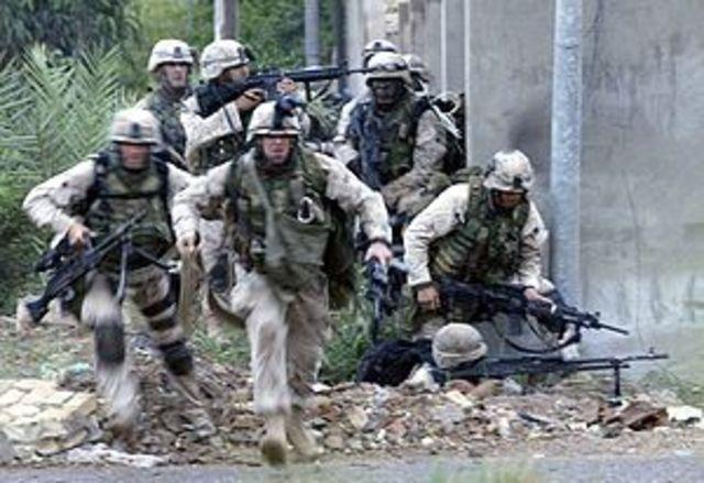 Fighting in Iraq continues (VUS.13e)
