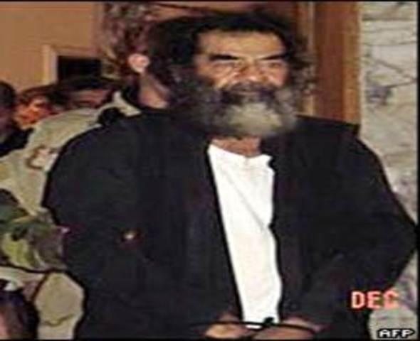 Saddam Hussein is Captured! (VUS.13e)
