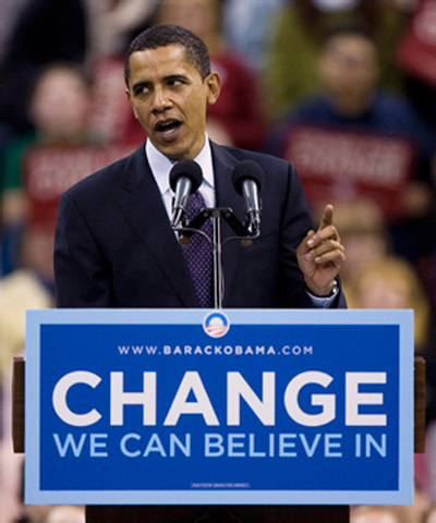 Barack Obama is elected the next President of the United States
