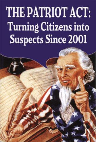 The Patriot Act (VUS.15f)