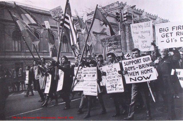 Anti - War Demonstration in DC