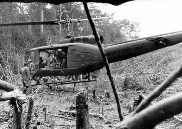US Troops At Cambodian Border